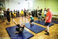 Workshop - Každý je kaskadér a herec - FF 2013